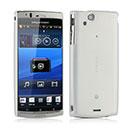 Custodia Sony Ericsson Xperia Arc S LT18i Ultrasottile Plastica Cover Rigida Guscio - Bianco