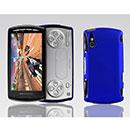 Custodia Sony Ericsson Xperia Play Z1i Plastica Cover Rigida Guscio - Blu