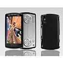 Custodia Sony Ericsson Xperia Play Z1i Plastica Cover Rigida Guscio - Nero
