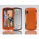 Custodia Sony Ericsson Xperia Play Z1i Rete Cover Rigida Guscio - Arancione