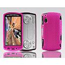 Custodia Sony Ericsson Xperia Play Z1i Rete Cover Rigida Guscio - Fucsia