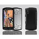 Custodia Sony Ericsson Xperia Play Z1i Rete Cover Rigida Guscio - Nero