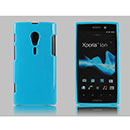 Custodia Sony Xperia Ion LT28i Silicone Case - Luce Blu