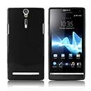 Custodia Sony Xperia S LT26i Silicone Case - Nero