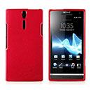 Custodia Sony Xperia S LT26i Silicone Case - Rosso