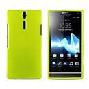 Custodia Sony Xperia S LT26i Silicone Case - Verde