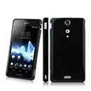 Custodia Sony Xperia TX LT29i Silicone Case - Nero