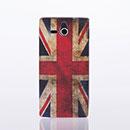 Custodia Sony Xperia U ST25i La bandiera del Regno Unito Cover - Misto