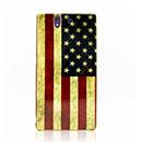 Custodia Sony Xperia Z L36H La bandiera degli Stati Uniti Cover - Misto