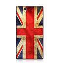 Custodia Sony Xperia Z L36H La bandiera del Regno Unito Cover Rigida - Misto