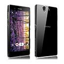 Custodia Sony Xperia Z L36H Silicone Trasparente Case - Clear