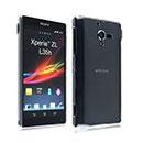 Custodia Sony Xperia ZL L35H Trasparente Plastica Cover Rigida Guscio - Clear