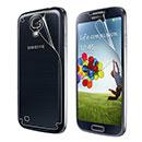 Samsung Galaxy S4 i9500 i9505 Proteggi Schermo Film Posteriore e Anteriore - Chiaro